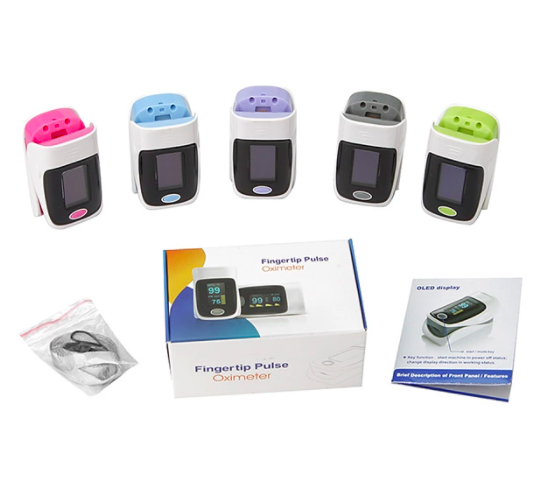 fitconn pulse oximeter packaging